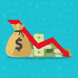 An image representing bad credit debt consolidation saving money